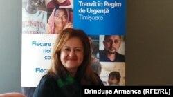 Reprezentantul UNCHR, Nisreen Rubaian atrage atenția asupra drepturilor pe care le au refugiații.