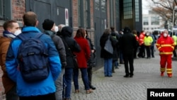 Գերմանիա - Կորոնավիրուսի դեմ պատվաստման կենտրոն Բեռլինում, արխիվ