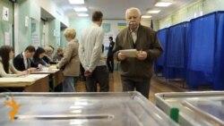 Glasanje na parlamentarnim izborima u Ukrajini