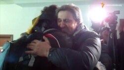 У Дніпропетровську зустріли поранених бійців, які пройшли реабілітацію в Литві