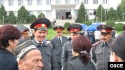 Кыргызстандын ИИМин реформалоого көмөктөшкөн ЕККУ программасынын иш чарасы, Ош шаары