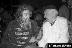 Борис Покровский и Евгений Нестеренко, 1987