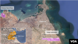 Prikaz baze u Džibutiju