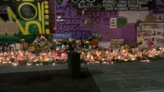 Мемориал погибшим от полицейского насилия