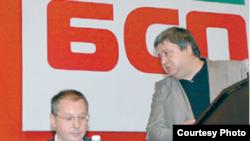 Sergei Stanişev (stînga)