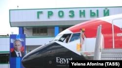 Самолет EgyptAir со Сборной Египта приземлился в Грозном 10 июня, 2018