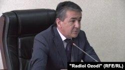 Акбар Ятимзода, председатель Госкомитета по земельному управлению и геодезии Таджикистана