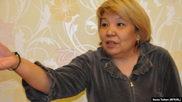 2011 жылы ереуілдеген жаңаөзендік мұнайшылардың белсендісі Роза Төлетаева. 20 қараша 2014 жыл
