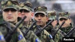 Припадници на косовските безбедносни сили.