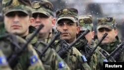 Pripadnici Kosovskih bezbednosnih snaga, Priština 21. januar 2011.