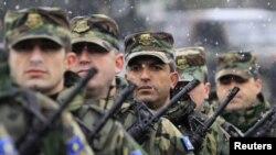 Pripadnici Kosovskih bezbednosnih snaga, Priština, fotoarhiv