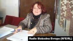 Поранешната директорка на Охридскиот музеј Тања Паскали Бунташеска