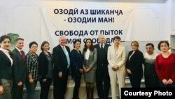 Встреча послов западных стран с таджикскими правозащитниками. Душанбе, 19 ноября 2018 года