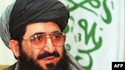Abdul Hakim Mujahid (in file photo) was ambassador to Islamabad when Pakistan was one of just three countries to recognize the Taliban regime.