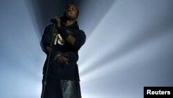 Американский рэпер Канье Уэст выступает в Нью-Йорке. Иллюстративное фото.