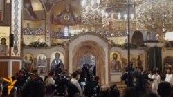 Podgorica: Osvještan Saborni hram Hristovog Vaskrsenja