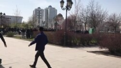 Джума-намаз в Грозном перед карантином