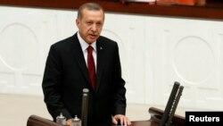 Recep Erdogannıñ inauguratsiya merasimi