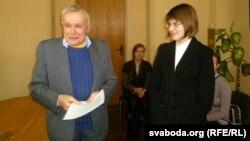 Міхась Булавацкі і Марыя Пілецкая