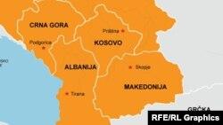 Албанія та країни-сусіди по Західних Балканах