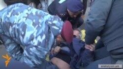 Столкновения в Армении