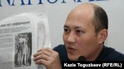 Сергей Зелепухин. Алматы, 14 қаңтар 2011 жыл.