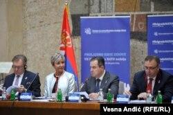 Ministar spoljnih poslova Ivica Dačić naglasio je značaj saradnje Srbije i NATO-a