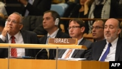 БҰҰ-дағы отырысқа қатысушы делегаттар.