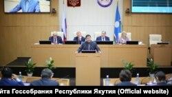 Заседание Госсобрания Якутии