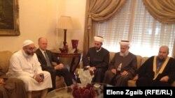 وفد هيئة العلماء المسلمين يلتقي وزير العدل اشرف ريفي لبحث قضية سجن رومية