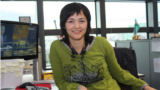Barnohon Isakova, journalist for RFE/RL's Uzbek Service and author of the project Unbroken