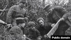 Крымские партизаны, 1943