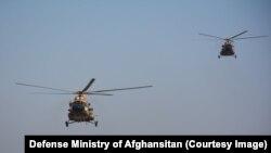 آرشیف، حملههای هوایی نیروهای افغان بر مواضع طالبان