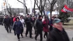 Працівники «Південмашу» протестували проти невиплати зарплати