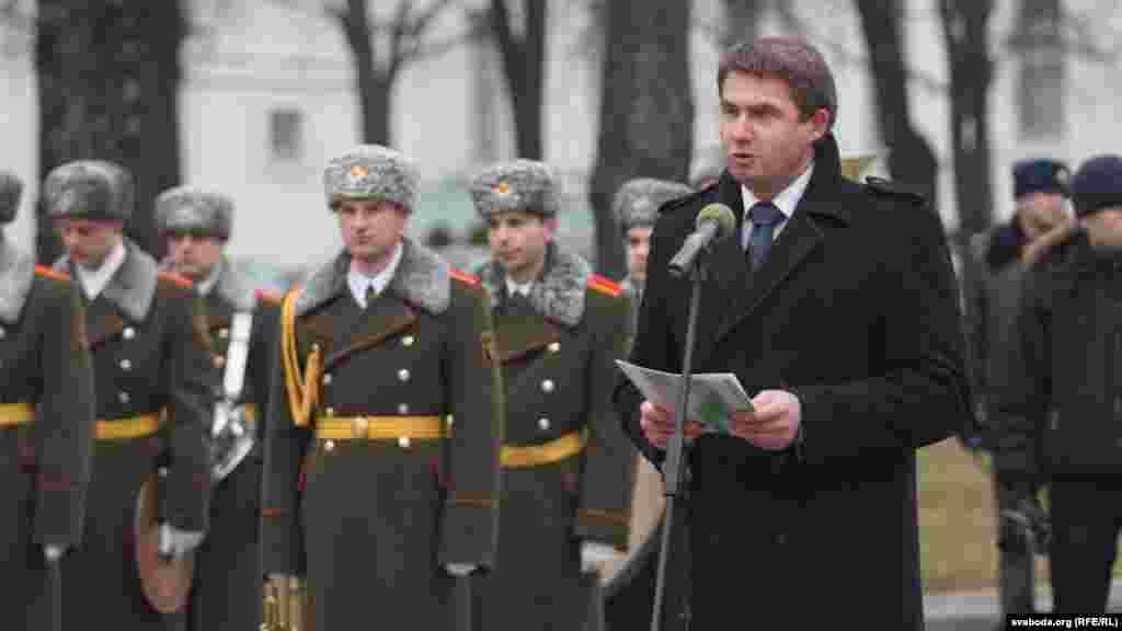 Намесьнік міністра культуры Уладзімер Карачэўскі