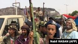 تصویری از جداییطلبان جنوب یمن در بندر عدن