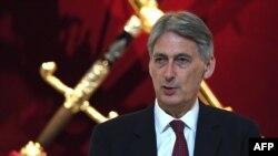 Ministrul de finanțe Philip Hammond