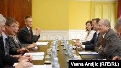 Šef diplomatije Srbije na sastaknu sa nemačkim zvaničnicima