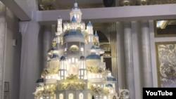 Свадебный торт. Казахстан