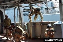 Міжнародні навчання «Сі Бриз-2016» . Фото прес-центру ВМС