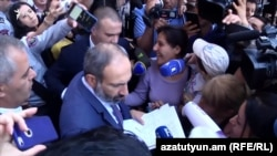 Ermenistanyň premýer-ministri Nikol Paşiniýan
