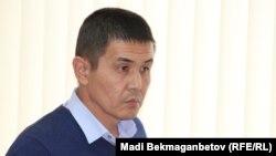 Сагадат Амре, представитель акима Актюбинской области Бердибека Сапарбаева. Астана, 19 октября 2016 года.