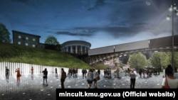 Переможець відкритого архітектурного конкурсу проектів щодо об'єкта «Національний меморіальний комплекс Героїв Небесної сотні» – Музей Революції гідності