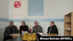 Kemal Đono, Omer Spaho, Husein Špago i Edina Čomić, foto: Mirsad Behram