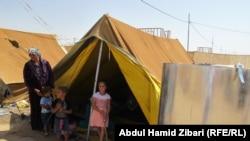 Лагерь сирийских беженцев в Ираке