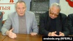 Уладзмер Някляеў і Генадзь Бураўкін