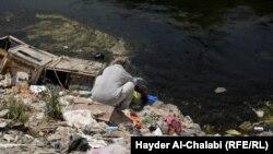 Иракъ - Хица бала хьогуш бу Иракъан къилбера бахархой, Бабил провинци. 2015 шо.