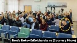 Sporna fotografija na kojoj Aleksandar Ranković zeva
