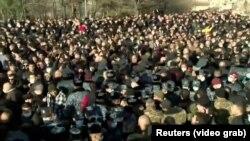 Армениянын өкмөт башчысы Никол Пашинян Еревандагы аза күтүү жүрүшүнө катышты. 2020-жылдын 19-декабры.