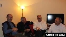 Дамир Исхаков (с), Римзил Вәли, Юлай Шамилоглы һәм Надир Дәүләт